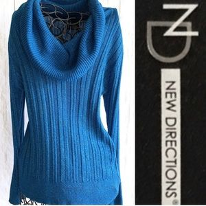 Cowl Turtleneck by New Directions, Medium